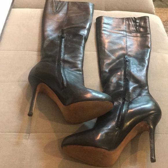 21f1c1394adef Sam Edelman Empire knee high boot Black leather. M 5b5e1e735bbb8030ebaf6bb2